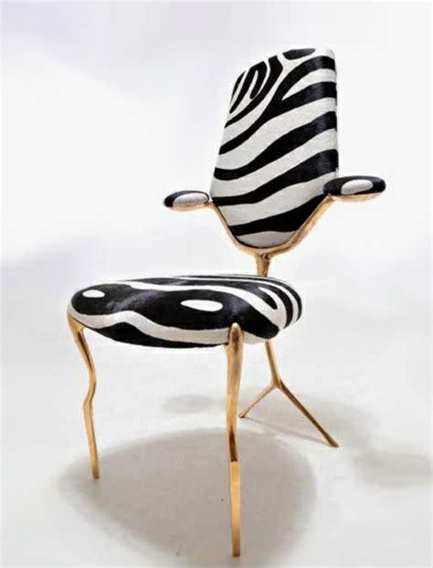 chaise zebre le fauteuil zèbre dans 40 photos inspirantes