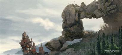 Giant Rock Creature Animation Funny Inertia Short