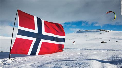 norways snow kite race   tundra
