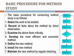 Lecture 1 Work Study As Per Amravati University Syllabus