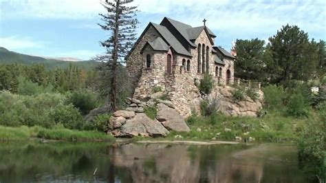 Awesome Chapel Built On A Rock Allenspark Colorado In