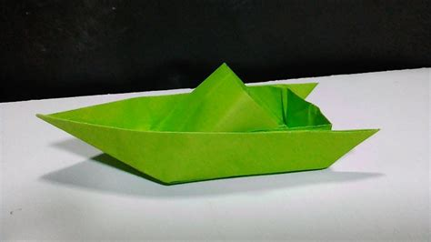 cool paper speed boat youtube