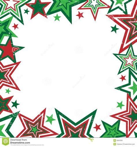 christmas stars border stock photo image