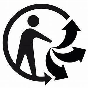 Pictogramme produit recyclable 2015 TrimanRecyclage, tri sélectif panneaux et autocollants pour