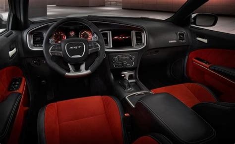 picture   dodge charger srt hellcat interior