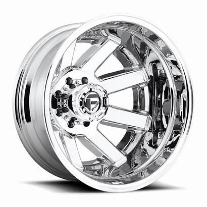 Dually Maverick D536 Rear Wheels Fuel Chrome