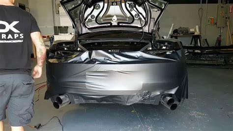 45 Minutes. Camaro Rear Bumper Vinyl Wrap. How To Vinyl
