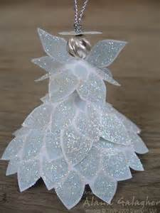 Angel Christmas Ornament Flower