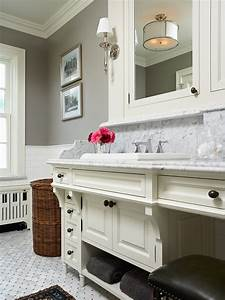 rockport gray transitional bathroom benjamin moore With kitchen colors with white cabinets with john lennon wall art
