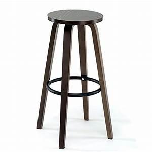 Tabouret Haut En Bois : chaise de bar en bois massif tabourets de bar r tro tabouret haut tabouret ~ Teatrodelosmanantiales.com Idées de Décoration