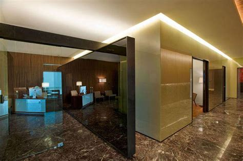 modern bureau modern office interior glass design modern office modern