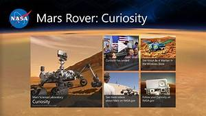 Mars Rover: Curiosity app for Windows in the Windows Store