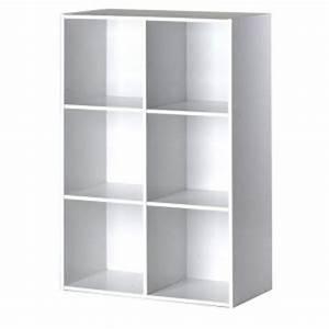 Etagere 6 Cases : meuble 6 cases comparer 200 offres ~ Teatrodelosmanantiales.com Idées de Décoration