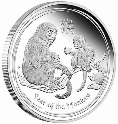 Lunar Coin Monkey Coins Silver Series Proof