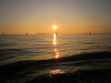 Weekly Photo Sunset In Venice Italy