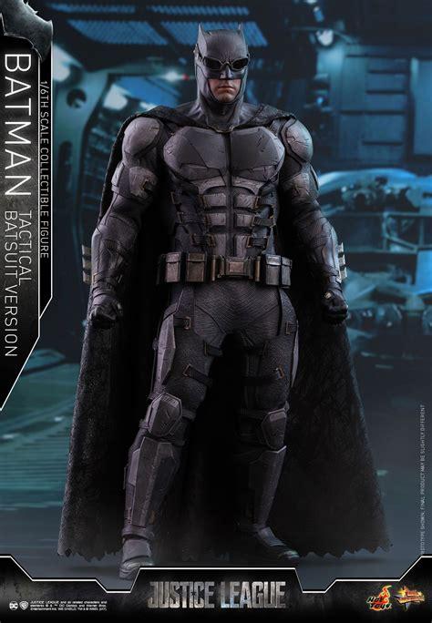 justice league batman tactical batsuit figure  hot toys