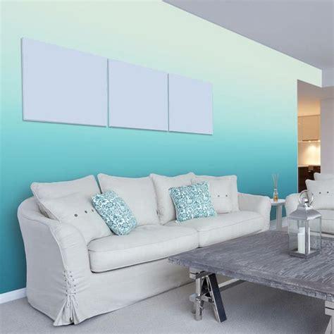 Wandgestaltung Wohnzimmer Wände by Wohnzimmer Wandgestaltung Mit Farbe Ombre Wand Streichen