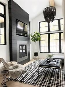 Black, Fireplace, Designs