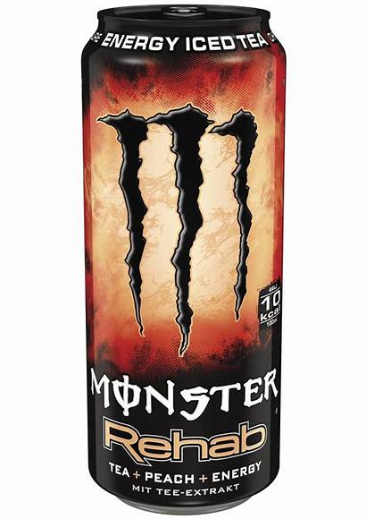Monster Peach Rehab Energy Hu