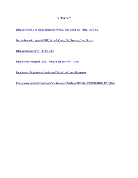 solved case study virtual case file fbi