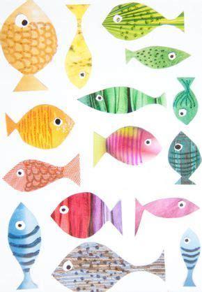 fischebasteln fische basteln basteln mit kindern und basteln