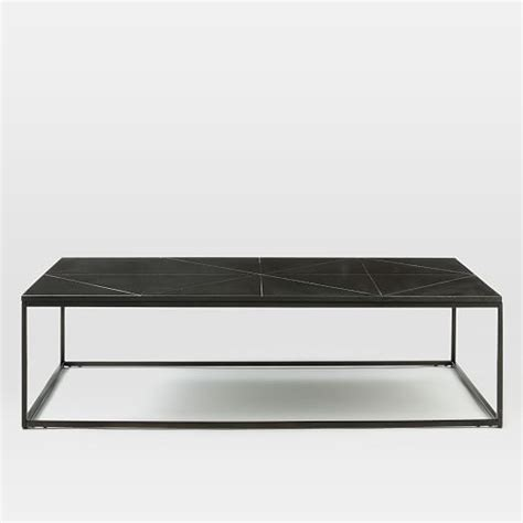 etched granite coffee table west elm