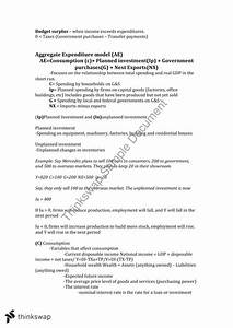 Macroeconomics Final Exam Study Guide