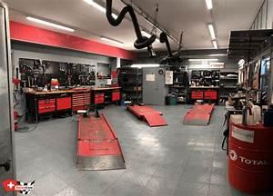Amenagement Garage Atelier : dalle de sol pour garage moto ou atelier mecanique sol ~ Melissatoandfro.com Idées de Décoration