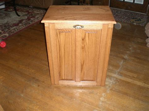 cabinet trash can trash can cabinet by chrisncarrie lumberjocks