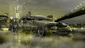 TOYOTA SUPRA JDM NEW YORK MATRIX NIGHT CAR 2018 el Tony