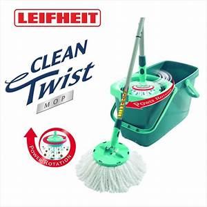 Leifheit Clean Twist System : leifheit leifheit 52019 set clean twist system mop wischmop ebay ~ Frokenaadalensverden.com Haus und Dekorationen