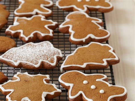 gingerbread cookies  royal icing recipe michael mina