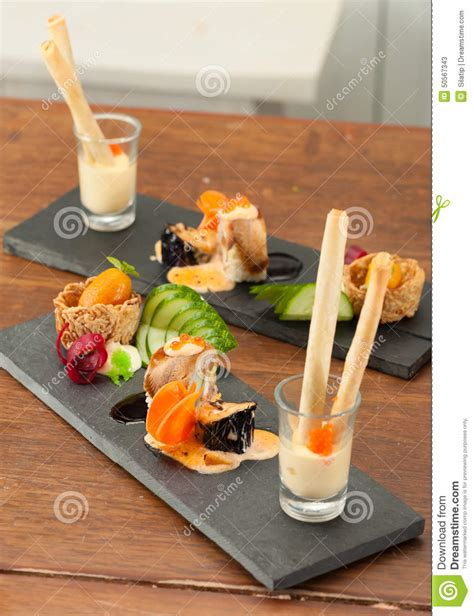 japanese fusion cuisine japanese fusion food stock photo image 50567343