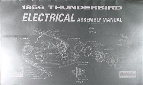 Thunderbird Electrical Assembly Manual Bird