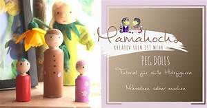 Holzfiguren Selber Machen : peg dolls tutorial f r s e holzfiguren menschen selber machen mamahoch2 ~ Orissabook.com Haus und Dekorationen