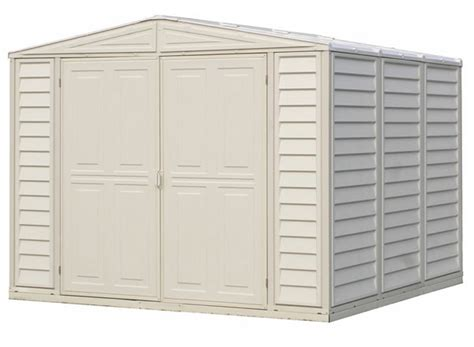sheds for less direct duramate 8x8 duramax vinyl tool storage shed kit 00381