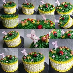 Dessert Paques Original : panier de p ques ma petite patisserie contact isilda ~ Dallasstarsshop.com Idées de Décoration