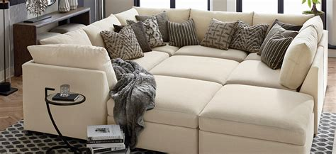 sectional pit sofa fabric sectionals