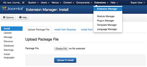 How To Upload A Template In Joomla by How To Install A New Joomla Template Responsive Joomla