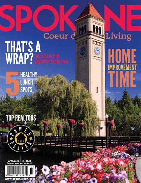 Spokane Coeur d'Alene Living magazine by Spokane Coeur d