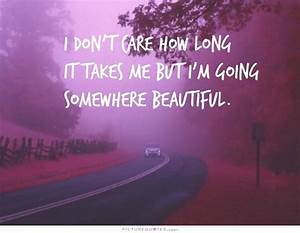 Long Beautiful ... Prettyof Quotes