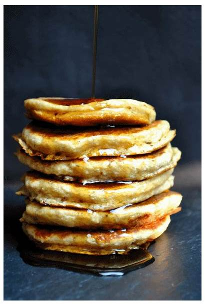 Pancakes Puszyste Ricotty Smacznego