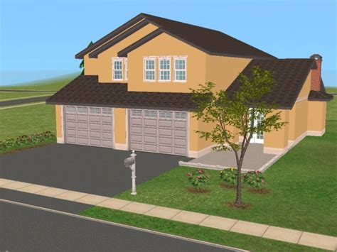 2 bed 2 bath house plans mod the sims 25 maple 2 family home based