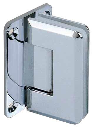 degree glass door hinge glass  wall