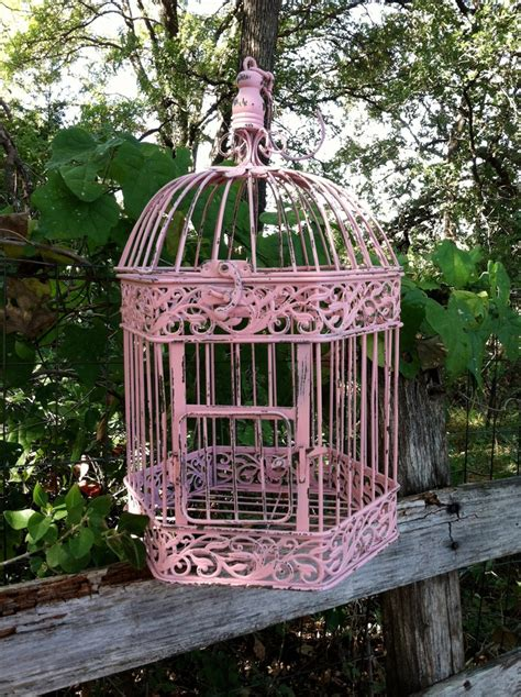 shabby chic birdcages victorian pink shabby chic bird cage hanging bird cage