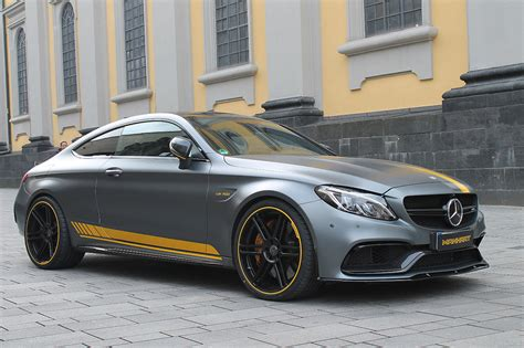 Mercedes-amg C63 S Coupe Gets 700ps Courtesy Of Manhart