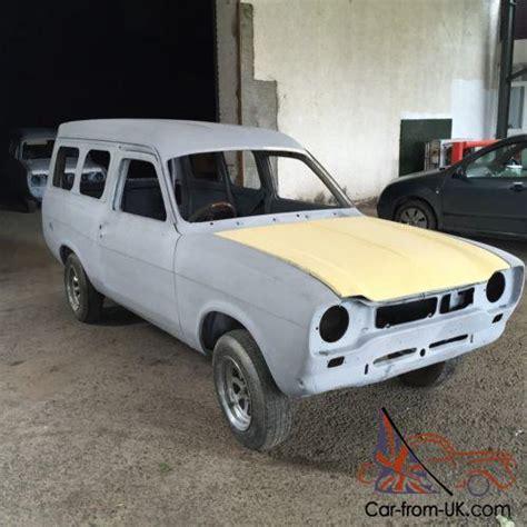 Mk1 Ford Escort Rolling Shell Panel Van
