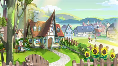digital Art, Drawing, Illustration, Fairy Tale, House ...