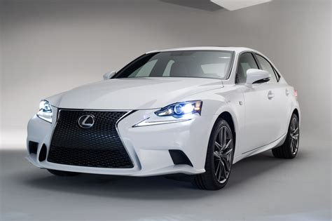 sporty lexus sedan lexus releases official 2014 is f sport images before