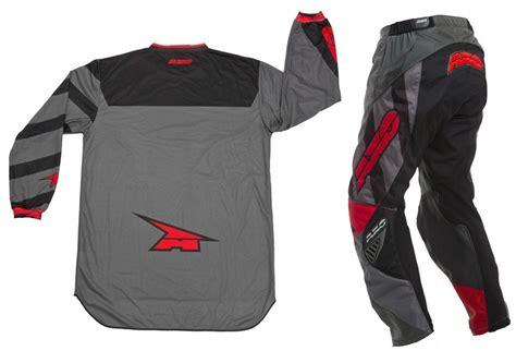 axo motocross gear new axo mx trans am grey red enduro dirt bike bmx